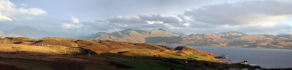 Afternoon Knoydart Panorama1
